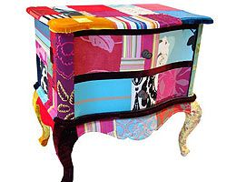 quilted night stand