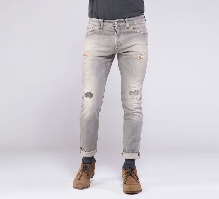 MPT191 - Cycle #cyclejeans #denim #jeans #cycle #jeans #men #apparel #fall #winter #collection #rippedjeans #rips