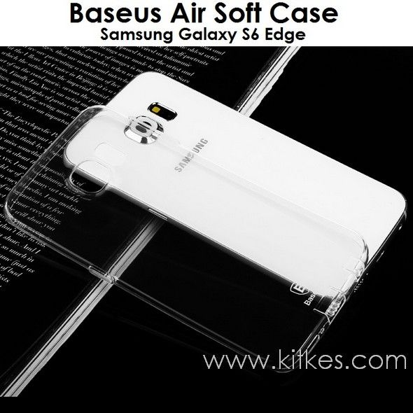 Baseus Air Soft Case Samsung Galaxy S6 Edge - Rp 75.000 - kitkes.com
