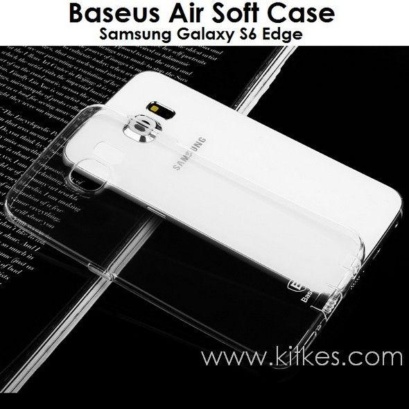 Baseus Air Soft Case Samsung Galaxy S6 Edge - Rp 75.000 - kitkes.com
