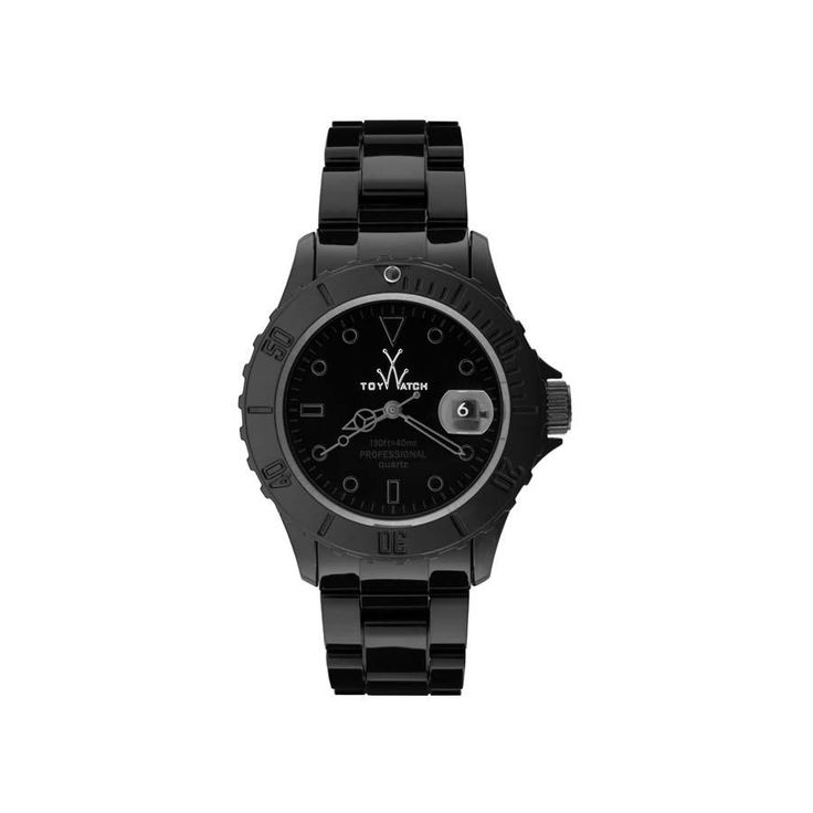 Toy Watch Monchrome Watch Black