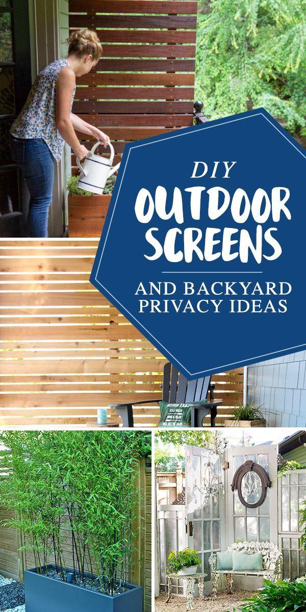 Diy Outdoor Screens And Backyard Privacy Ideas The Garden Glove Privacy Screen Outdoor Diy Backyard Privacy Garden Privacy Screen