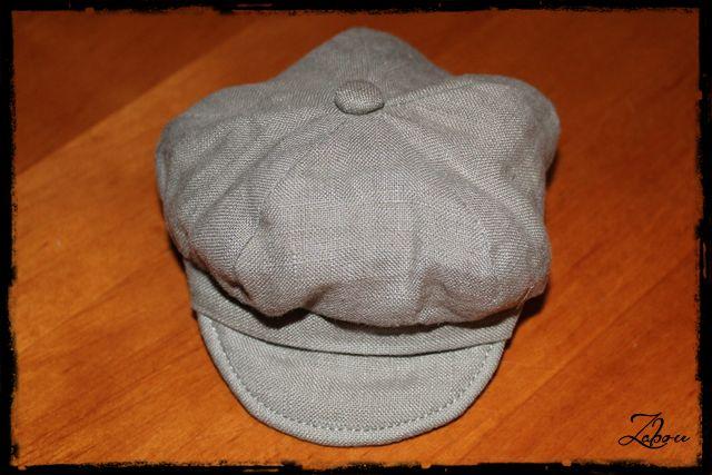 Réalisation d'une casquette Gavroche pour BJD