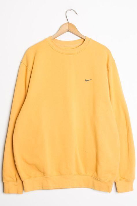 Vintage Mustard Nike Sweatshirt in 2019  0cf90290a