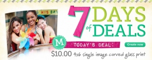 Looking for a unique gift or a special gift for Easter? Head on over to Walgreens Photo where today's Photo Deal is a 4by6 Single Image Curved Glass Print for only $10 (reg. $27.99!). Even sweeter, you can snag FREE standard shipping with any $20 photo purchase when you enter the promo code FREEAT20 [...]