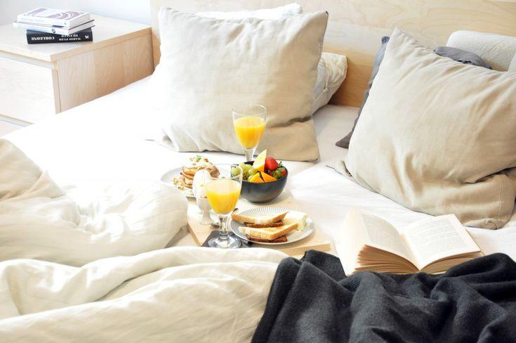 Snídaně do postele Breakfast in bed