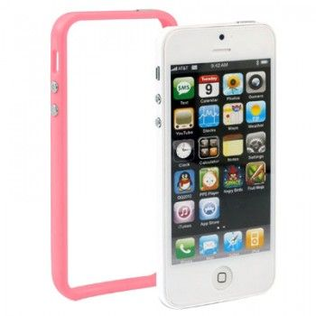 Bumper Frame for iPhone 5 - Pink