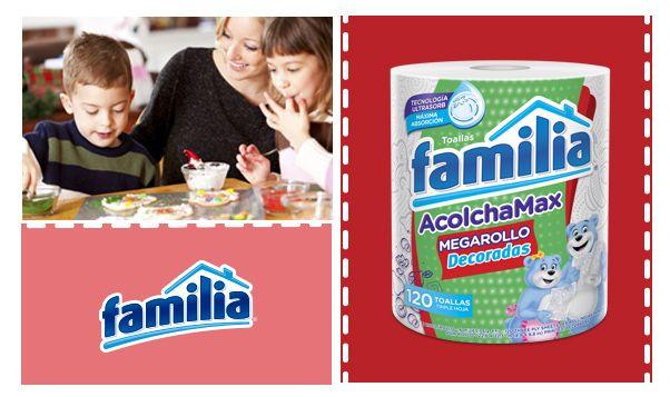 Tu cocina quedará impecable incluso después de que tus hijos te sorprendan con una receta especial. Toallas de Cocina Familia® Acolchamax, más absorbentes, más gruesas y más acolchadas.