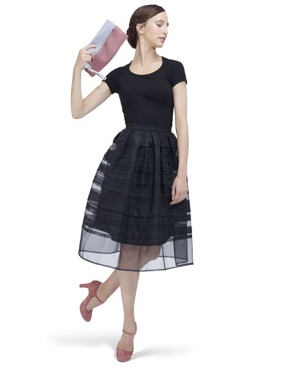 Dress Elisa Black by Repetto - Collection spring-summer 2014