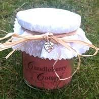 Hand-poured cinnamon candle in a jar - 'Made with Love' Collection £2.50
