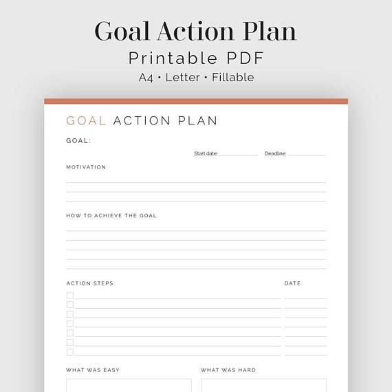 Best 25+ Action plan template ideas on Pinterest Action list, So - performance action plan sample