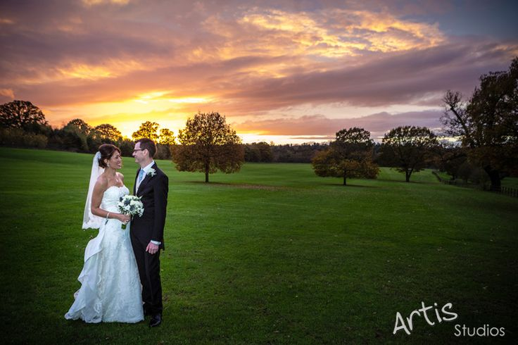 Coworth Park Wedding Photography - Sunset