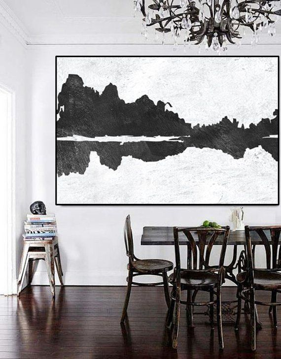 Abstract Mountains Large Wall Art Original Painting On Canvas Etsy Large Wall Art Canvas Painting Large Canvas Art