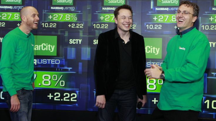 Elon Musk and SolarCity unveil 'world's most efficient' solar panel #ElonMusk, #SolarCity, #Business
