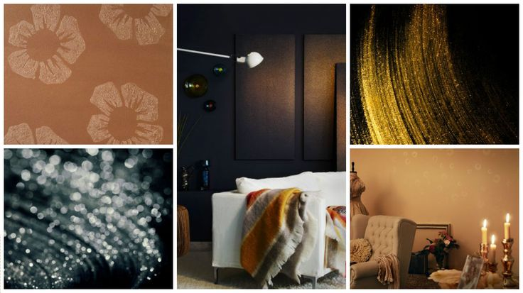 Create a Glittery Effect on Interior walls with @Tikkurila Taika Stardust http://holmanpaints.co.uk/products/439-tikkurila-taika-stardust-glitter-effect-paint.html
