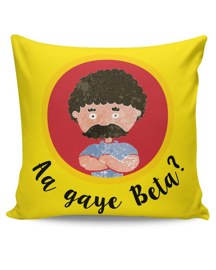 Aa Gaye Beta? | Father's Day Cushion Cover