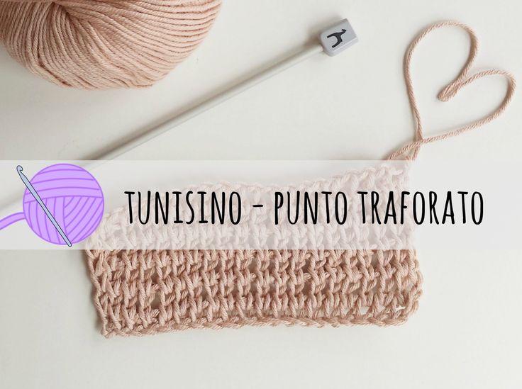 100 best uncinetto Tunisino images on Pinterest | Tunisian crochet ...