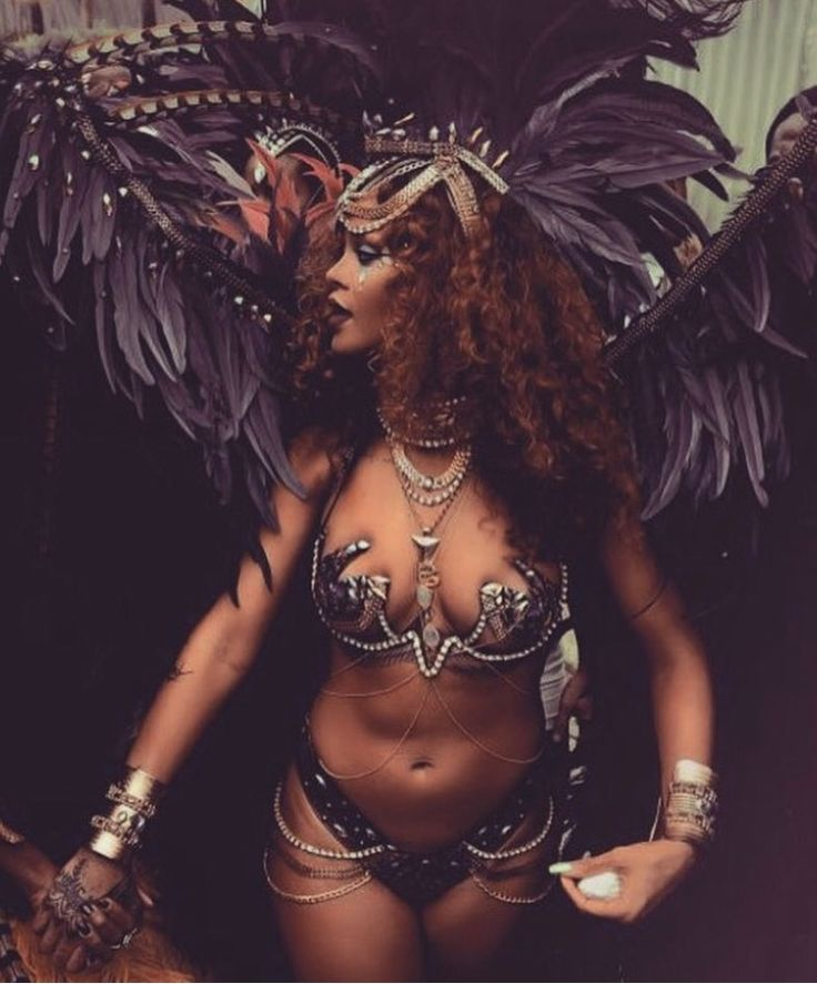 Rihanna and carnival