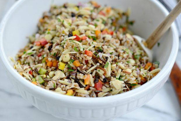 J. Alexander's Wild Rice Orzo Salad (part 2)