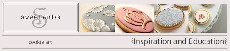 SweetAmbs - cookie and cake decorating