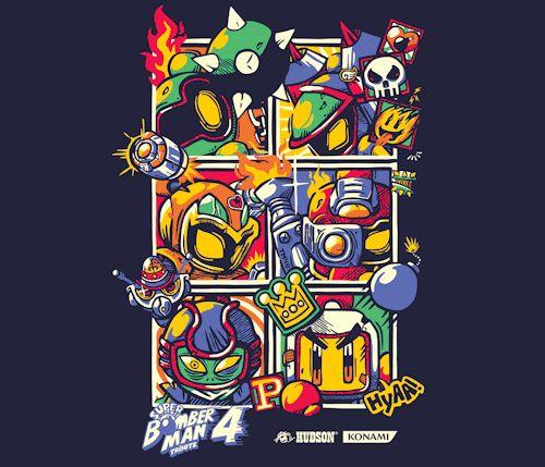 Super Bomberman 4 TributeCreated by Rafael Faustino