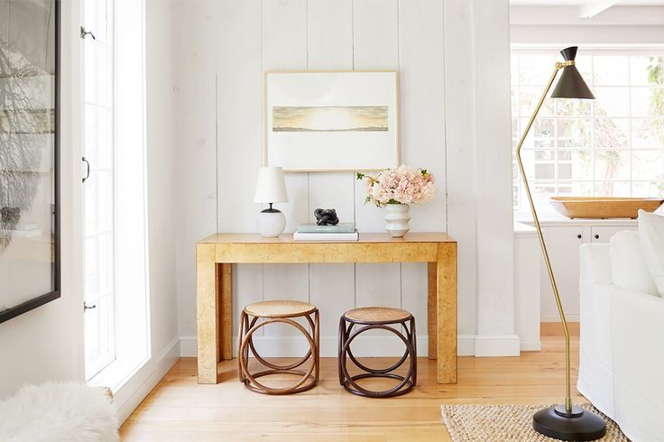 Inside Jenni Kayne's Stunning Living Room Makeover via @MyDomaine