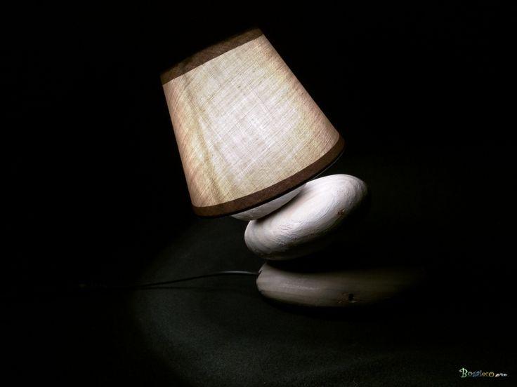 Les 25 meilleures id es concernant lampe galet sur for Lampe a poser galet