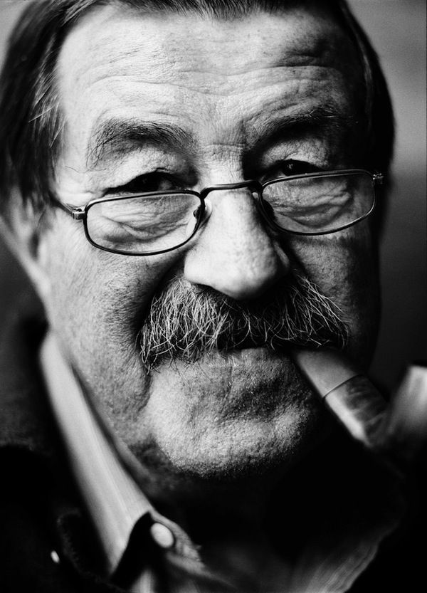 """Günther Grass """" We dwarves and fools have no business dancing on concrete made for giants. If only we had stayed under the rostrums , where no one suspected our presence. """" The Tin Drum"""