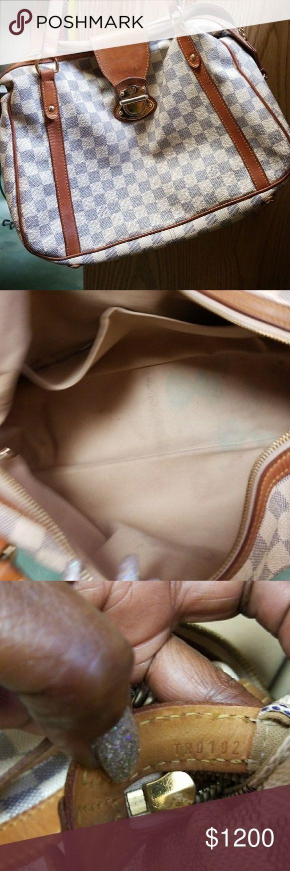 Azur stressa mm Louis vuition bag in used condition Louis Vuitton Bags Satchels