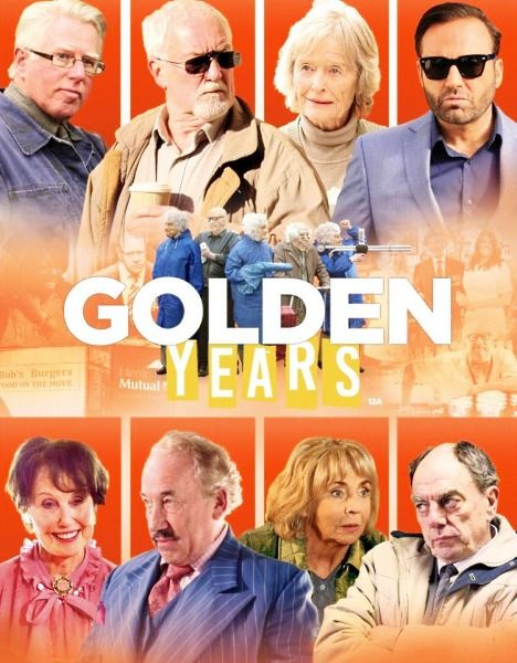 Золотые годы / Golden Years (2016/DVDRip)  Артур и Марта Гуд не хотят сидеть на пенсии и лежа считать как исчезают свои преклонные годы. Они решают начать грабить банки.