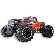 Cheap 1/5 Scale Gas RC Truck   Redcat Racing Rampage MT V3 Gas Truck (1/5 Scale), Orange/Flame