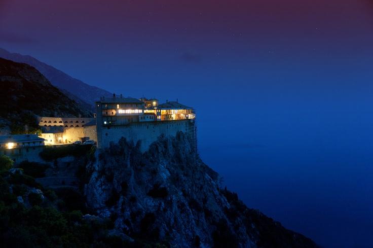 Simonopetra Monastery/Athos Mountain /Greece    photo credits: Irinel Cirlanaru http://500px.com/IrinelCirlanaru
