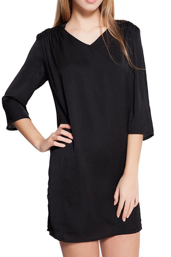Rochie Dama VERO MODA Hilo 3/4 Short Black: https://outmag.ro/haine-dama-ieftine/rochii-ieftine/rochie-dama-vero-moda-hilo-3-4-short-black