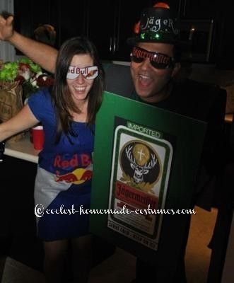 Jagerbomb Couple Costume :)