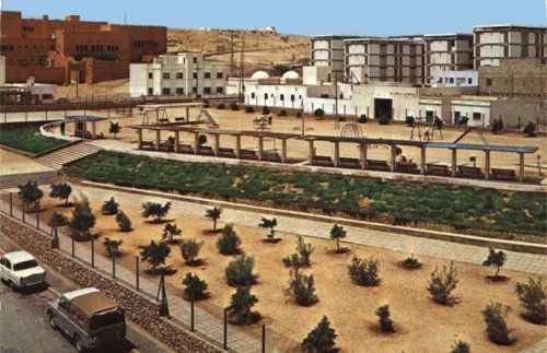 Laayoune (لعيون), Western Sahara, at 70s. Under spanish sovereignty until 1975.