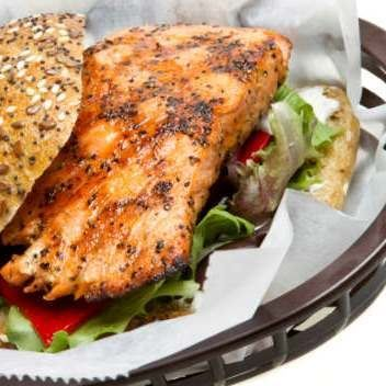More like this: salmon sandwich , salmon and sandwiches .