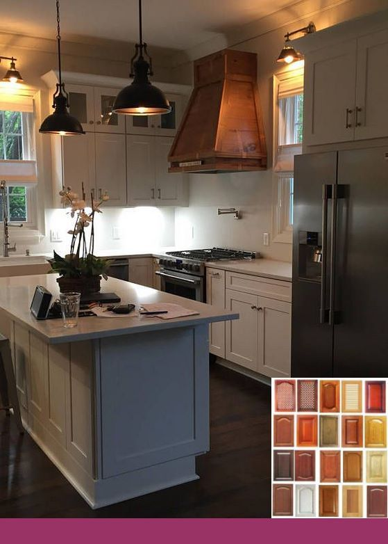 white cabinets maple island kitchencabinets farmhouse look with dark cabinets 802495208 on farmhouse kitchen maple cabinets id=44305