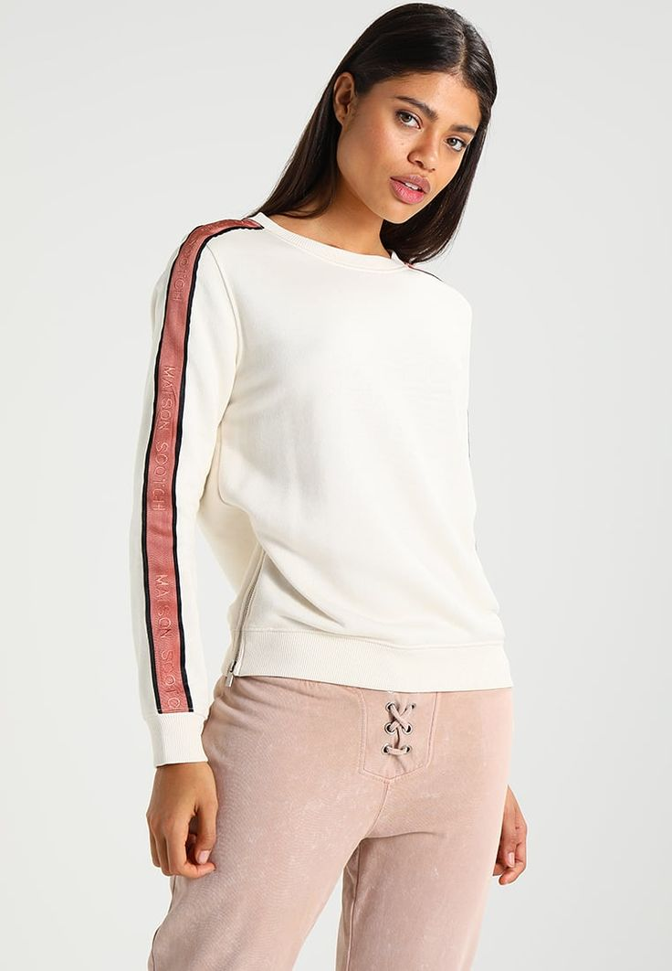 Scotch & Soda SPORT INSPIRED  - Sweatshirt - off white for £74.99 (02/08/17) with free delivery at Zalando