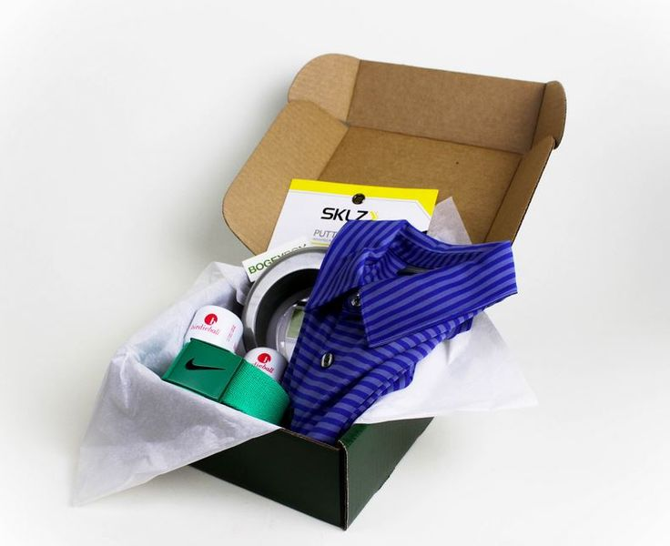 BOGEYBOX men's subscription box for the golfer in your life #FathersDayGiftIdeas