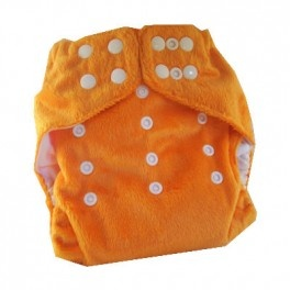 Yummy orange minky osfm nappy