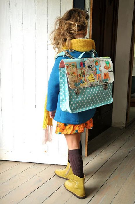 this is adorable! || 13 Adorable and Modern Kids Backpacks to Buy or DIY