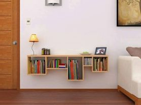 Stunning Creative Bookshelves Design Ideas 6