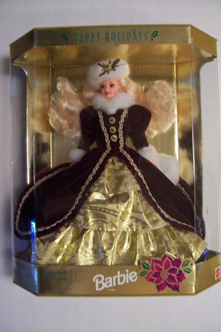 Vintage 1996 Special Edition Happy Holidays Barbie Christmas Doll 15646 Mattel Sealed in Box by NikkoChikko on Etsy