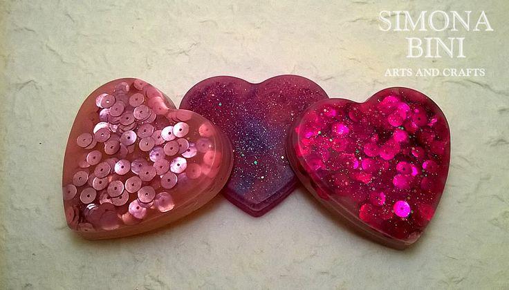 Saponi cuori rosa