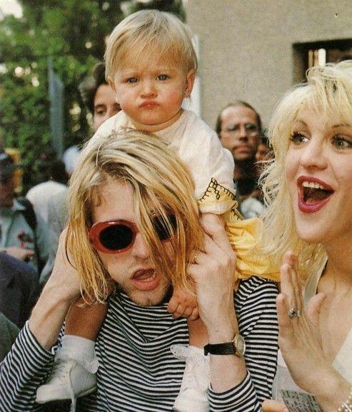 kurt cobain / courtney love 1993 MTV