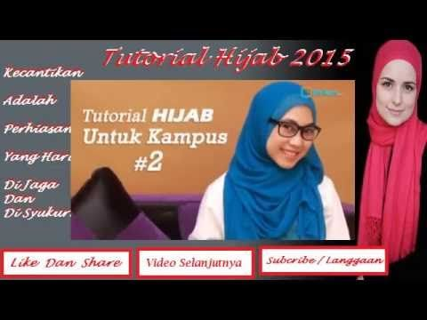 Tutorial Hijab 2015 ~ Hijab tutorial to go to college is very easy and s...