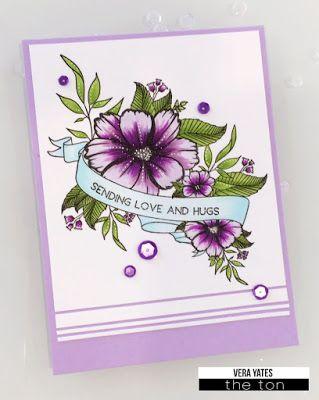 Wildflower Banner by Vera W. Yates