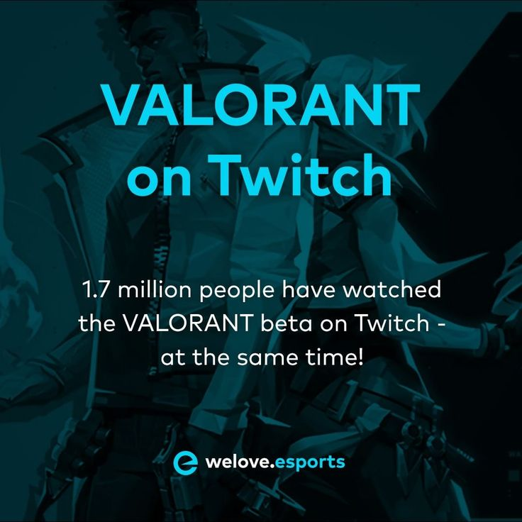 1.7 million viewers 😍 playvalorantofficial _____