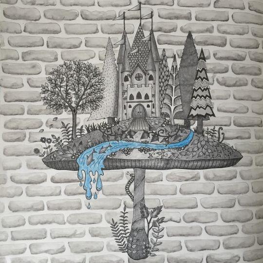 Coloring Books Colouring Johanna Basford Mushrooms Castles