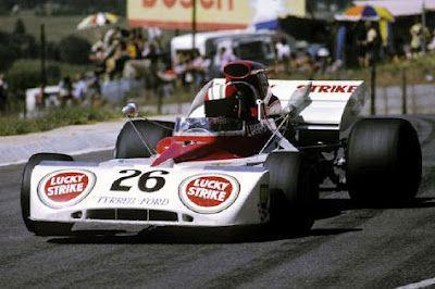 1973 Eddie Keizan, Blignaut Lucky Strike Racing Team, Tyrrell 004 Ford
